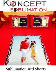 Sublimation Bed Sheets - Personalized Bed Sheets