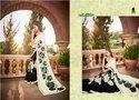 Indian Wedding Wear Heavy Designer Saree