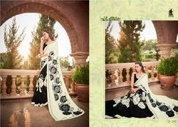 Indian Wedding Wear Heavy Designer Saree