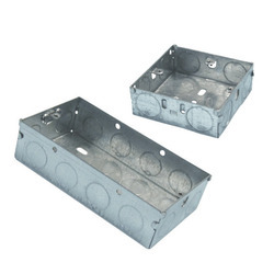 Pre Galvanized Switch Socket Boxes