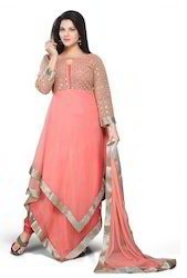 pink beautiful wedding dress