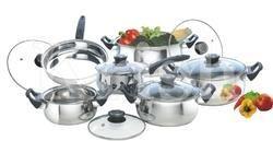 7 Pcs Belly Cookware Set