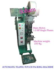 Automatic Plastic Pouch Packing Machine