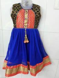 Net and Velvet Anarkali Suit