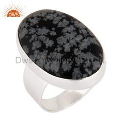 Natural Gemstone 925 Silver Men Rings