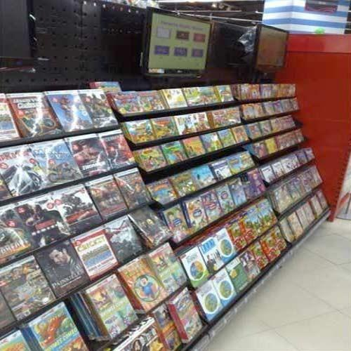 DVD Display Rack