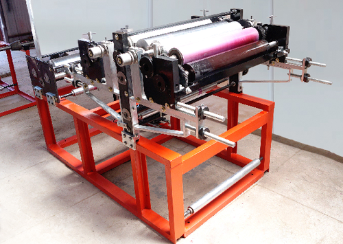 Table Top Printing and Rewinding Machine