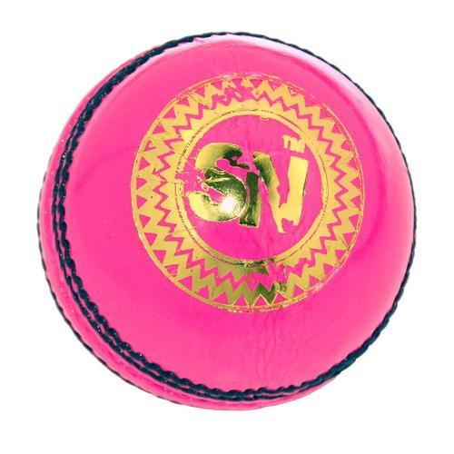 Pink Leather Cricket Balls