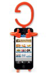 Kawachi Multi- Purpose Flexible Cellphone Holder
