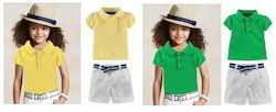Kids Girls Polo T-Shirt