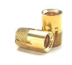 Brass Self Lock Expansion Insert