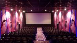 Movie Theater Set Up, Cineplex, Miniplex, Multiplex