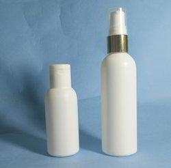 200 Ml HDPE Round Shimmer Bottle