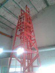 GRP Mobile Telescopic Platform Ladders
