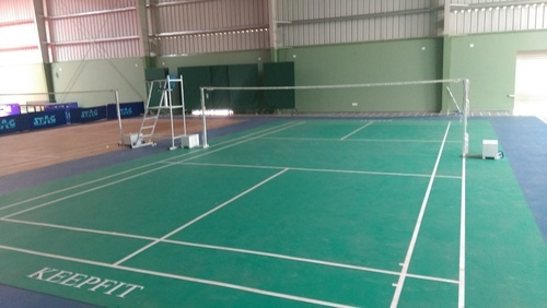 Indoor Wooden Flooring Pvc Badminton Court Manufacturer