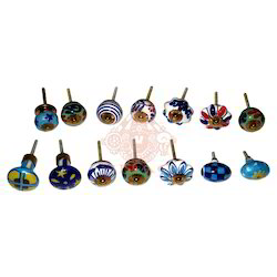Blue Pottery Pendent