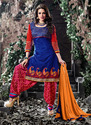 Embroidery Patiala Salwar Suit