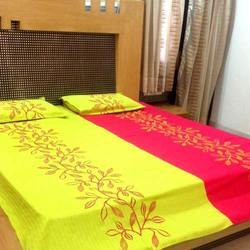 Embroidered Bed-Cover