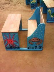 Two Seater Kids Bench Set