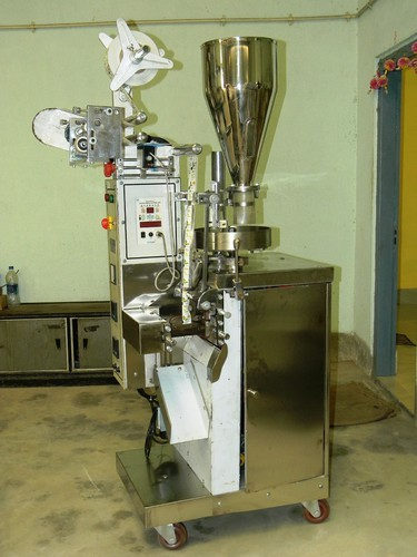 Tea Pouch Packaging Automated Form Fill Seal Machine