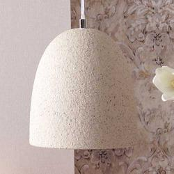 Phosphor Beige Stone Finish Pendant Lamp