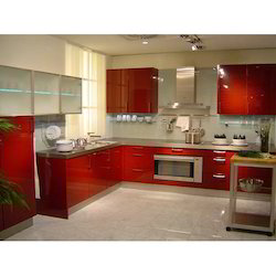 Ceramic Modular Kitchen