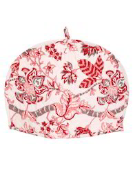 Pink And Red Printed Tea Warmer Handmade Tea Cozy
