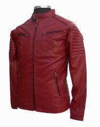 Leather Short Jacket