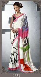Crepe Printed Saree