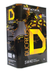 Ducatus 0w30 Fully Synthetic Motor Oil Ducatus 10w60 Pao