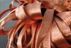 Bare Copper Braid Flat