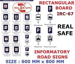 Informatory Road Signs