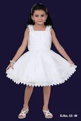 Stylish White Dress
