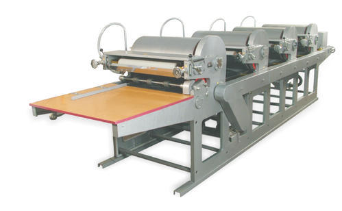Jute Bags Printing Machine - 4 Colour