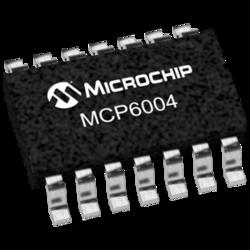 MCP6004-I/SL Operational Amplifiers