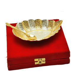 Silver Platters with Spoon