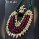 Beautiful Bridal Kundan Necklace