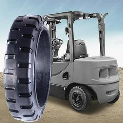 Heavy Duty Solid Press- On Tyres