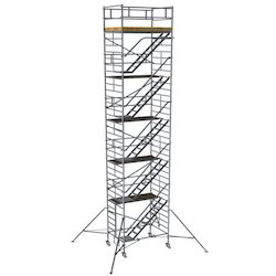 Double Width Scaffold With Stairway