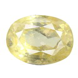 3.28 Carats Yellow Sapphire