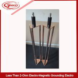 Less Than 2-Ohm  Electro-Magnetic Grounding Electro