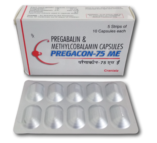 manufacturers of pregabalin tablets 75mg