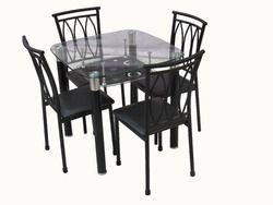 Metal Dining Table Set 608/B-13