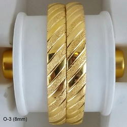 Real Gold Looking Imitation Bangles
