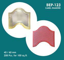 PVC Moulds For Camel Hump Diamond
