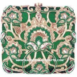 Zari Embroidery Clutch Purse