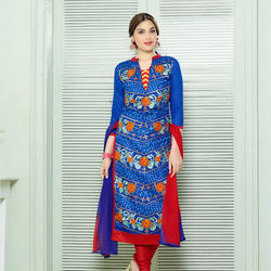 Cotton with Embroidery Suit