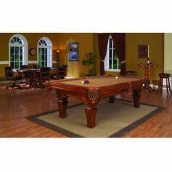 Teak Billiard Table