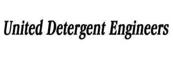 United Detergent Engineers