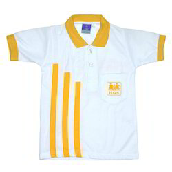 School Uniform - School T Shirt with Front Logo Manufacturer from ...